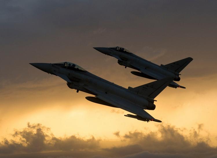 Eurofighter Typhoon cacccia multiruolo