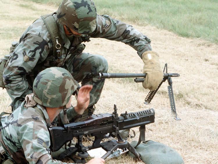 Mitragliatrice M60 Cambio Canna