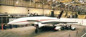 Eurofighter, prototipo doppia deriva