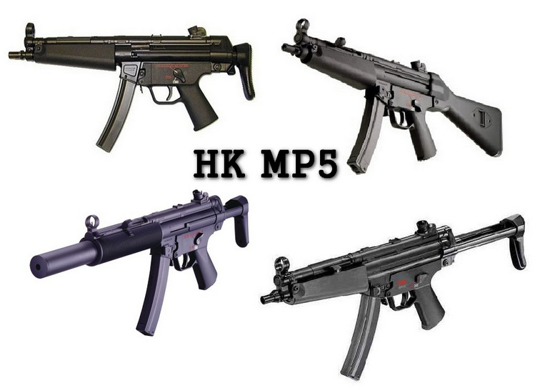 HK MP5 Versioni