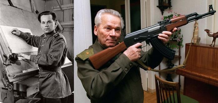 Mikhail Kalashnikov Storia