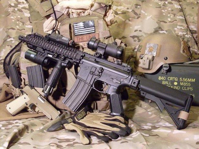 Colt M4 SOPMOD