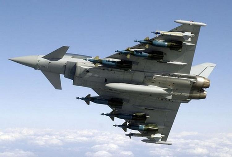 EF Typhoon - Armamento