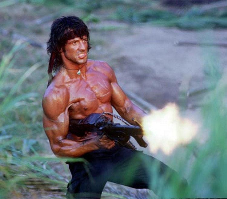 Rambo con M60